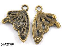 Hot sale bronze tibetan style alloy wing beads