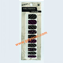 2013 full cover nail art sticker 2D nail decoration expert