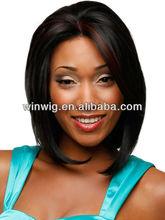 2012 black women 12inch silk straight wave,100% AAAvirgin indian human hair silk top full lace wigs NYHWIG-C0330