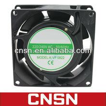 80x80x25mm 80mm ac axial cooling fan 220v ac 110v