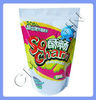Standup snack packaging plastic bag
