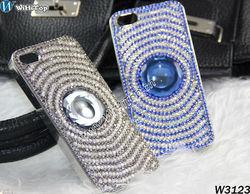 Swirling Design Luxury Diamond Case For iPhone 5 5G