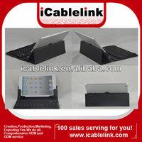 Ultra-thin Wireless Bluetooth Keyboard Leather Case For Mini ipad Black