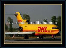 China international express DHL from Guangzhou to Haiti