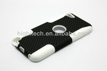 Mesh hybrid Combo Cover Case For Apple iPod Touch 5