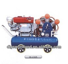 diesel driven portable air compressor 5 bar