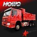 6x4 sinotruck camión volquete del howo inferior a precio de camiones hino