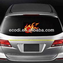 led lighting car sticker,EL equalizer lamp basketbal Miami heat
