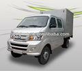 china 717p1 2wd caminhão da caixa seca para transportar produtoshortícolas 2 ton