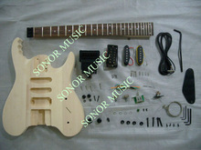 Hot Sale Guitar Kits With No Headstock/Unfinished Guitar Body