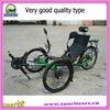 recumbent bicycle road type with three wheels