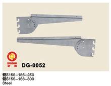 China Foshan Metal bracket for wood AA pillar shoe display rack clothes display stand factory