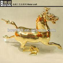Exquisite brass metal gift horse craft