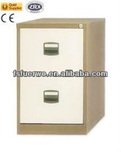 FoShan 2 drawer metal coffee vertical office cabinet