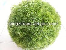 2013 China Artificial grass ball garden fence gardening horse bouncing ball