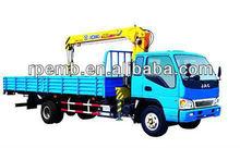 3 ton truck mounted crane/ XCMG Telescopic boom Truck mounted crane SQ3.2K1Q/unic truck mounted crane
