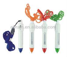 Hot Selling Promotional Advertising Lanyard Plastic Ball Pen
