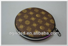 2013 Dongguan Round Cover&Fitting EVA CD Case With Colorful Zipper