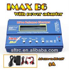 High quality imax B6 LiPo battery balance charger IMAX B6 Digital RC Lipo NiMh Battery Balance Charger