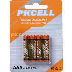 AM3 Battery 1.5V Dry Cell LR03