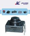 12*12mm 3p on-on-off mini presione el botón de parada botón de arranque eléctrico botones pulsadores smd electrónica conmutadores interruptor de linterna
