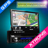 Xtrons D714G 7inch Single Din Car Touch Screen Radio GPS Car DVD Player Bluetooth Function