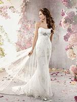 New Charming Floor length lace wedding dresses 2013