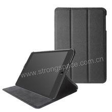Hotsale Plain Leather Smart Case Skin Back Cover for Apple iPad mini