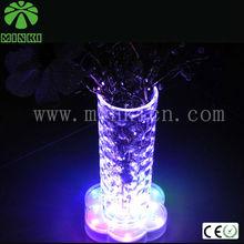 MINKI 7 color changing led light up base for vase for centerpies
