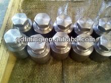 stainless steel npt thread hex head plug