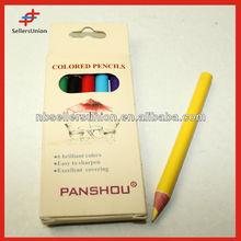 Short Shape for Children!! Best Price Short Shape Lead Color Drawing Pencil