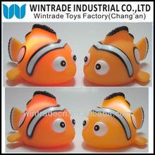 Orange Nemo LED Clown Fish toy, Bath toy LED clown fish