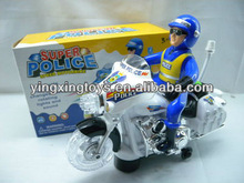police car, electric toy motorcycle with light,music
