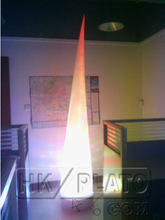 LED light inflatable cone /tube /stars decoration with MP3