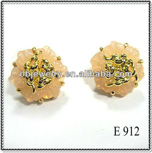 new design of gold earrings www imgkid the image