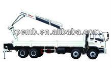 10 ton knuckle boom truck mounted crane/unic truck mounted crane/ XCMG knuckle boom type truck mounted crane SQ10ZK3Q