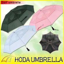 "27""X8K Wind-release-system Stick folding Umbrella Golf"