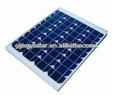 45W high quality monocrystalline solar panel