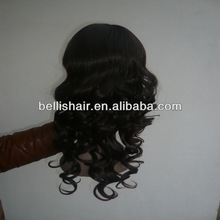 2013 Hotsale Hot Sell Fashion Lady 18 Inch Deep Wave Synthetic Full Lace Wig