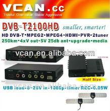 2013 tablet DVB-T2100HD SD DVB-T mpeg4 h264 digital tv box-dvb t2 receiver