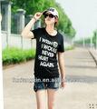 impreso customed diseño nuevo de algodón 100 aeropostale las mujeres camisetas