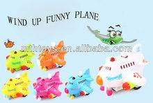 Wind up toys -colorful mini plane