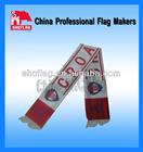 Promotion custom logo soccer scarf