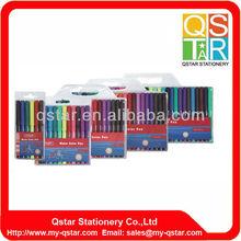 6 colors water color pen