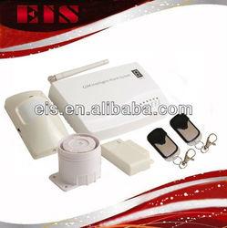 cheap GSM/SMS auto-dail 8 zone wireless buglar alarm system made in china