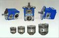 v vickers hydrauliques de série à faible bruit rotatif unique pompe à palettes