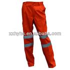 factory price High Visibility Orange Pant
