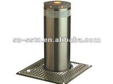 Automatic cast aluminum bollards with Solar LED light,casting bollard ductile marine cast iron