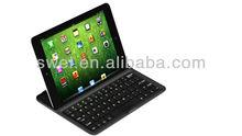 Bluetooth Aluminum Keyboard Cover Case For iPad Mini