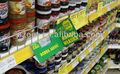Plástico retail / loja / prateleira do supermercado exibição wobbler feito de PP / PVC / PET